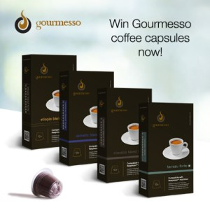 Blog Birthday Giveaway - Gourmesso Coffee Capsules