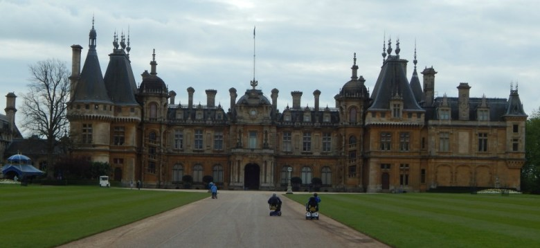 A birthday at Waddesdon Manor