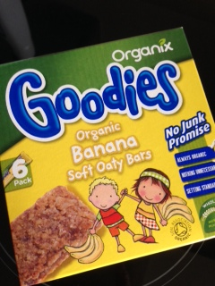 Organix Goodies Banana Soft Oaty Bars