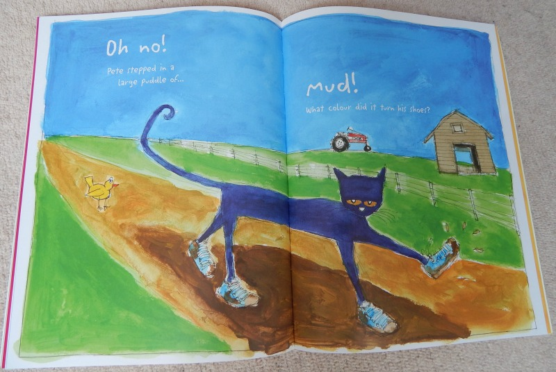 pete the cat i my white shoes a book review