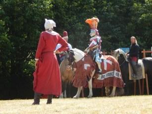 Jousting at Arundel Castle