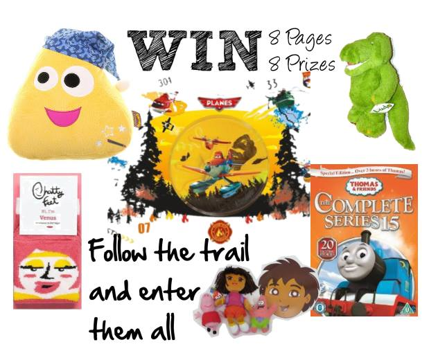 Thomas and Friends - my Facebook giveaway now live