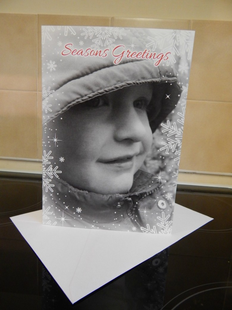 Personalised Christmas cards