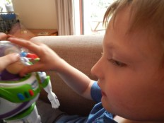 """Toy Story 12"""" Action Armour Buzz Lightyear"""