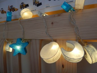 Stargaze anywhere with these truly supernal fairy lights. As the LED passes through the lush mulberry paper the light diffuses creating soft lunar glow. Whether party decoration or bedroom feature these lights will add a sprinkling of magic to any space.