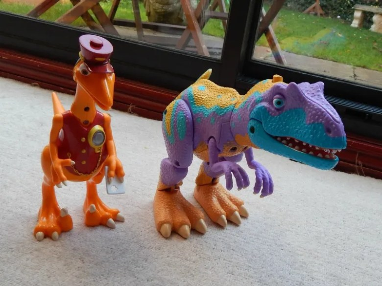 Dinosaur Train Interaction Figures