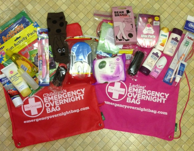Emergency Overnight Bag