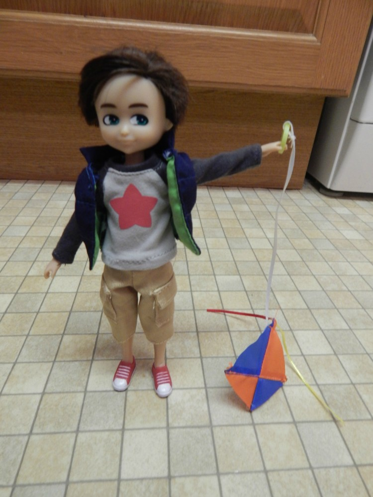 Finn the Kite Flyer doll