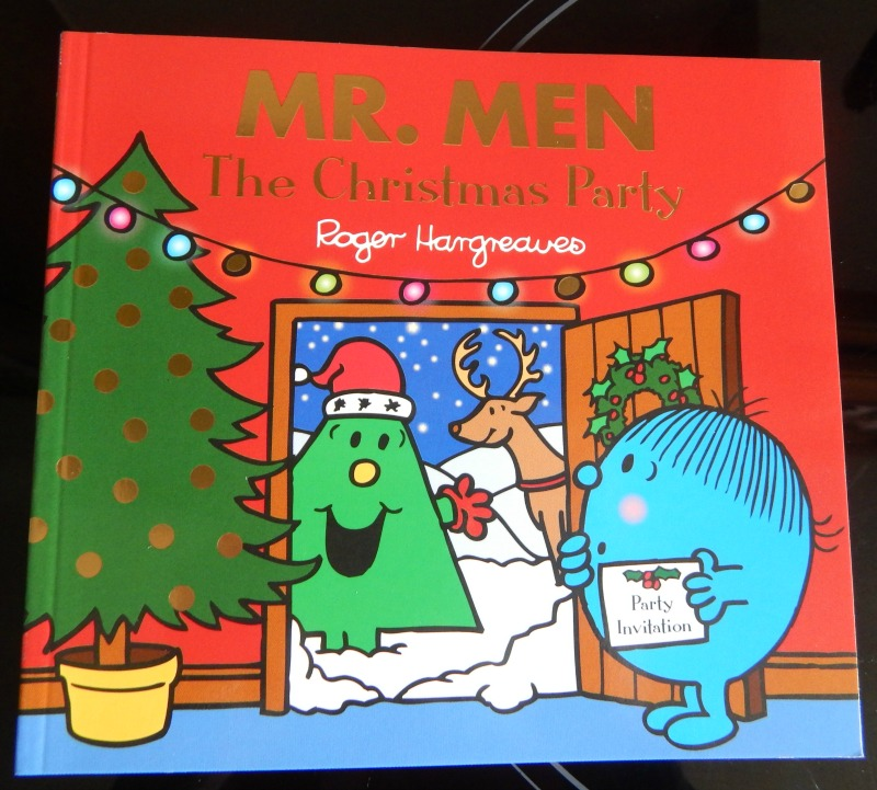 Mr Men The Christmas Party - book review - Over 40 and a Mum to One
