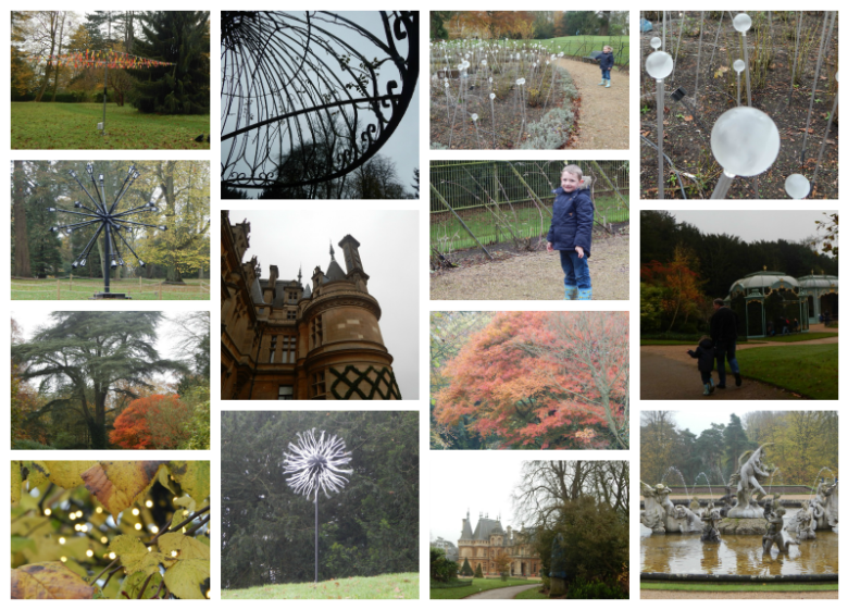 Two sides to Waddesdon Manor