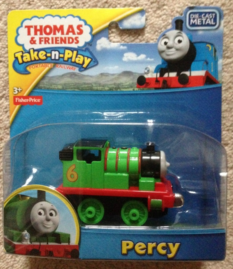 Percy train for Take n Play giveaway