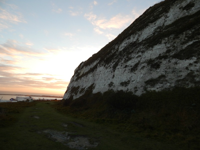 Walking to South Foreland Lighthouse