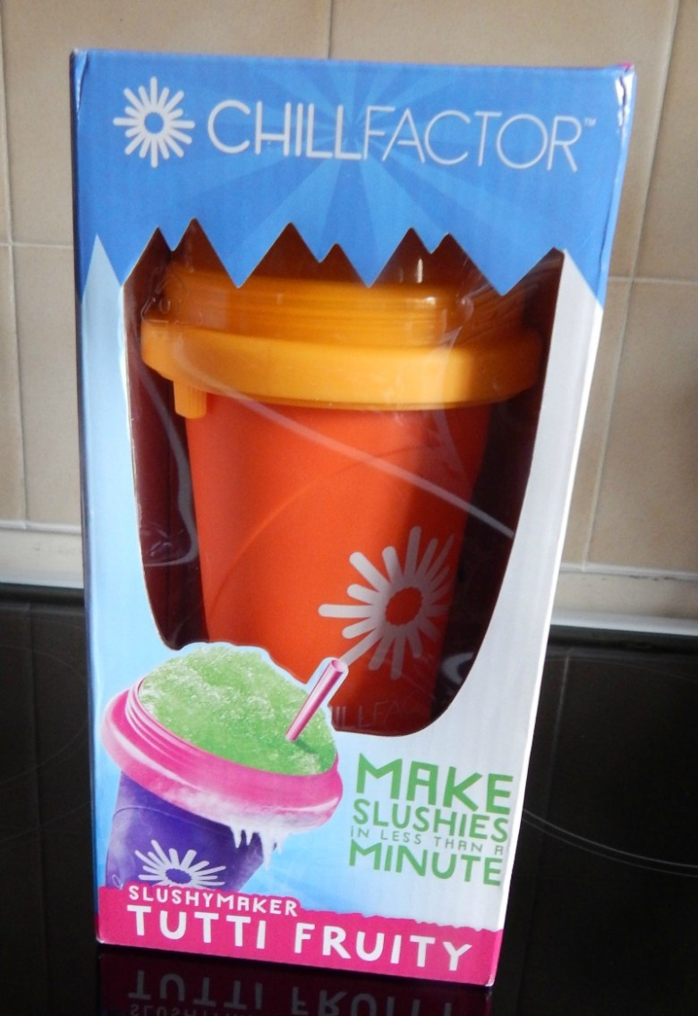 ChillFactor Squeeze Cup Slushy Maker