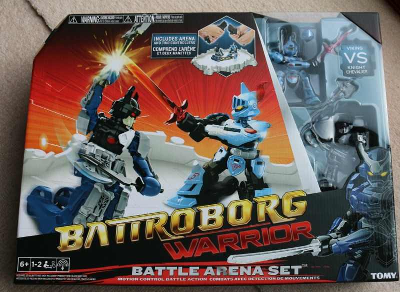 Battroborg Warrior Battle Arena Set