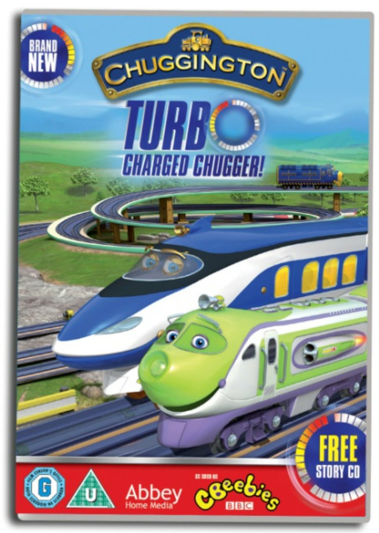 Chuggington Turbo Charged Chugger