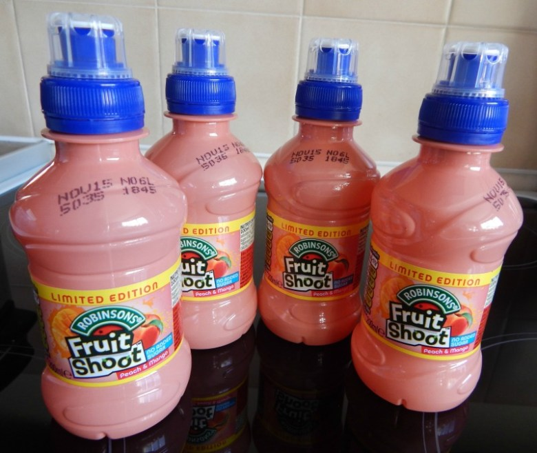 Fruit Shoot Peach and Mango