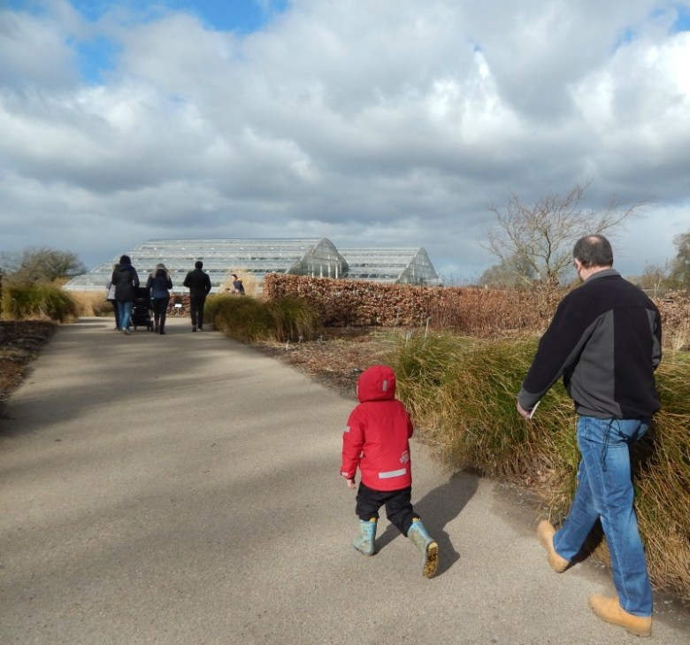 Walking back in time at RHS Wisley