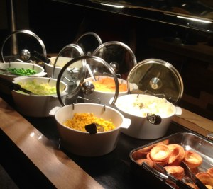 having a carvery meal in the week