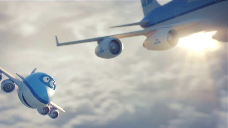KLM Royal Dutch Airlines present Bluey the Movie