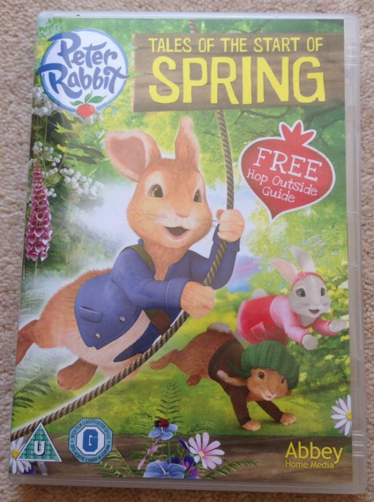Peter Rabbit Tales of the Start of Spring DVD