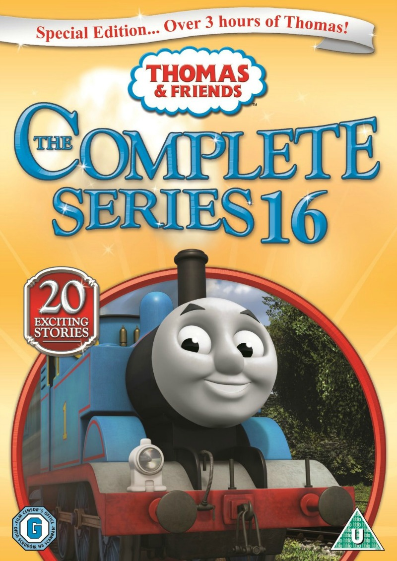 Thomas Amp Friends The Complete Series 16 Dvd Review