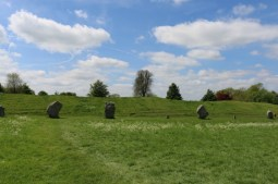 Having fun at Avebury