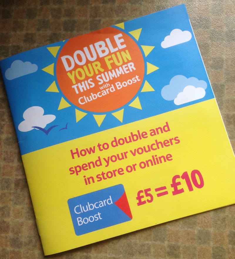 Summer holidays with Tesco Clubcard Summer Boost