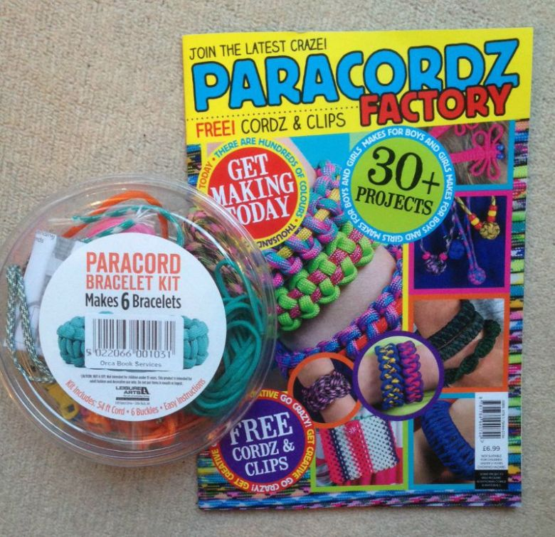Paracordz Factory magazine