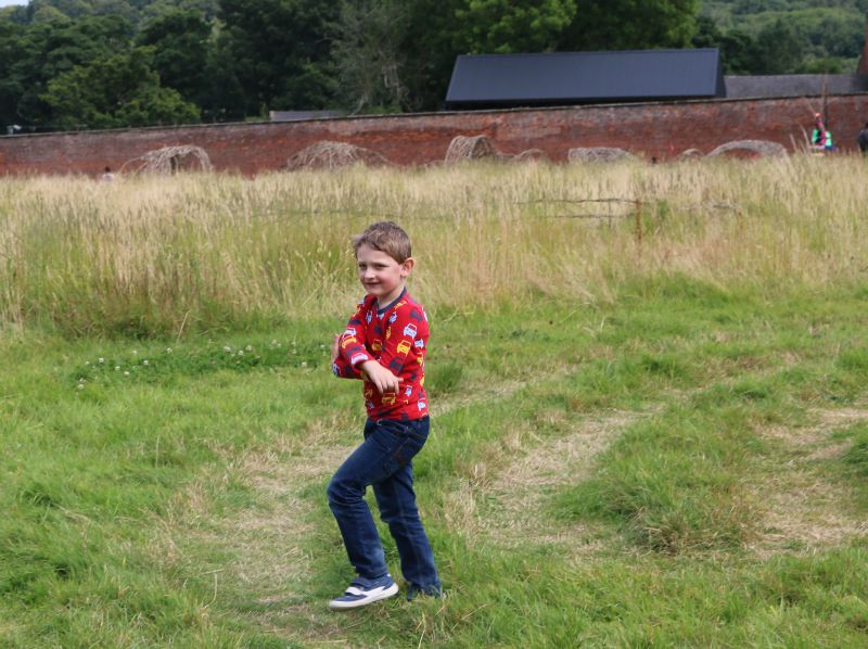 An afternoon of fun at Calke Abbey