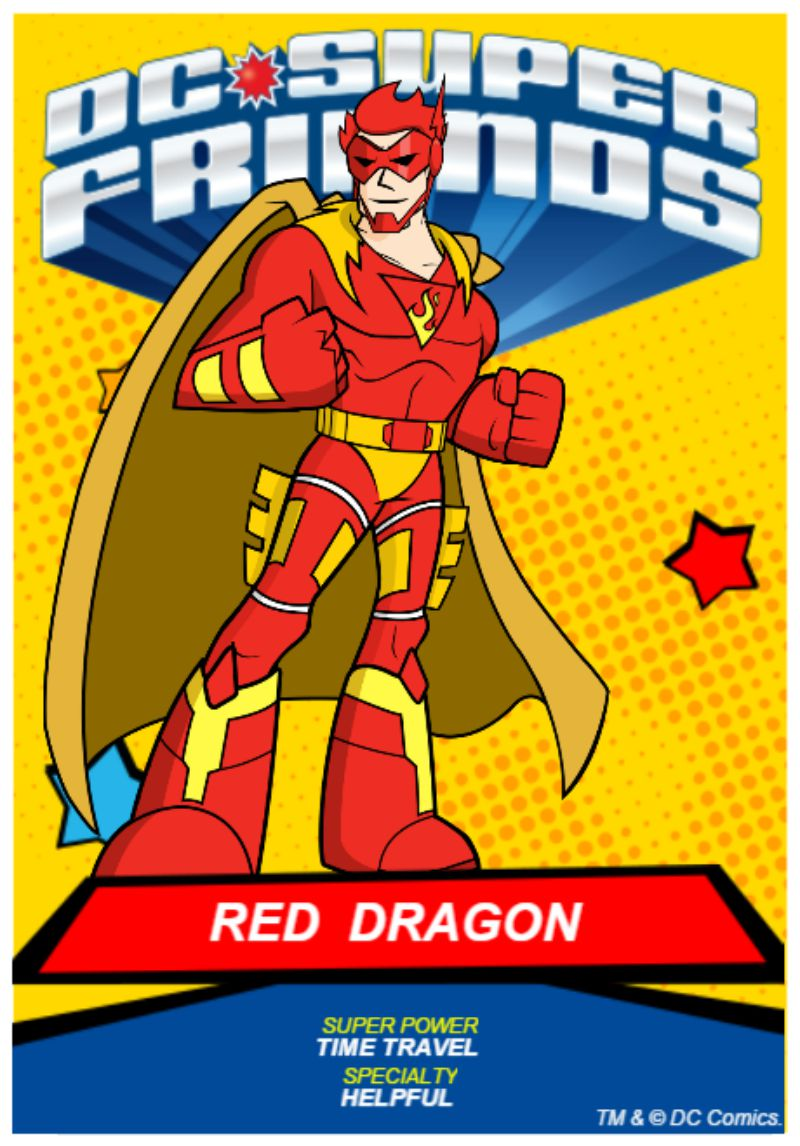 DC Kids Create your own Superhero and giveaway