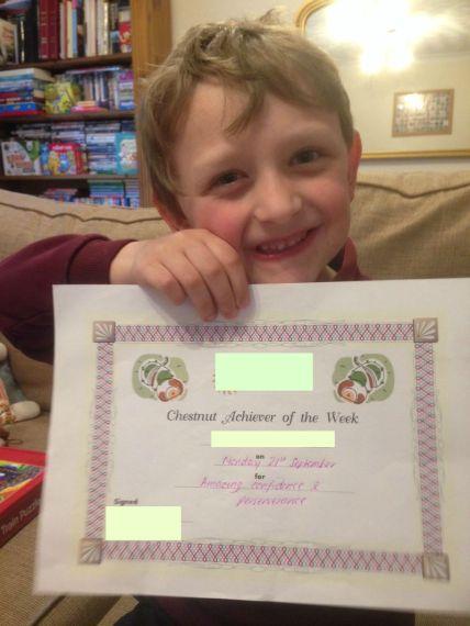 Monkey gets an Award