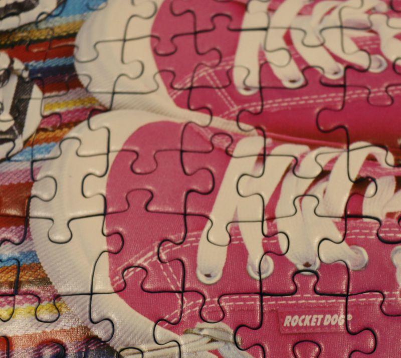 Shoe Heaven 1000 Piece Puzzle