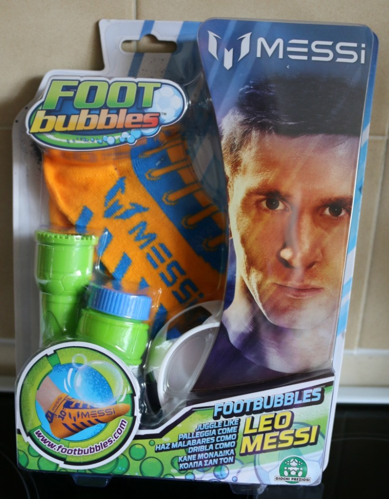 FootBubbles with Lionel Messi