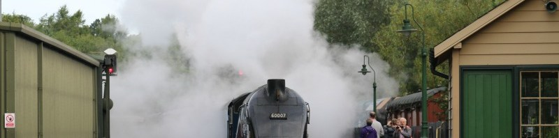 Meeting Sir Nigel Gresley