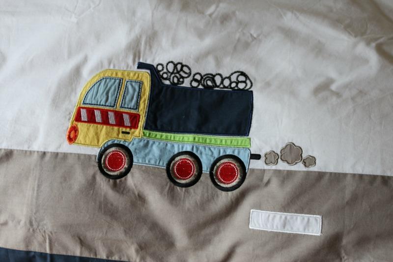 Trucks and Diggers Duvet Set