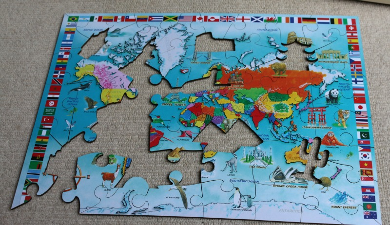 I know my world map jigsaw puzzle over 40 and a mum to one i know my world map gumiabroncs Image collections
