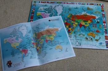 I Know My World Map
