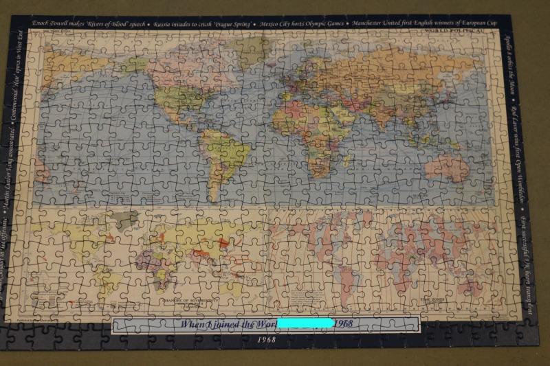 Personalised world map jigsaw i just love it over 40 and a mum personalised world map jigsaw gumiabroncs Choice Image