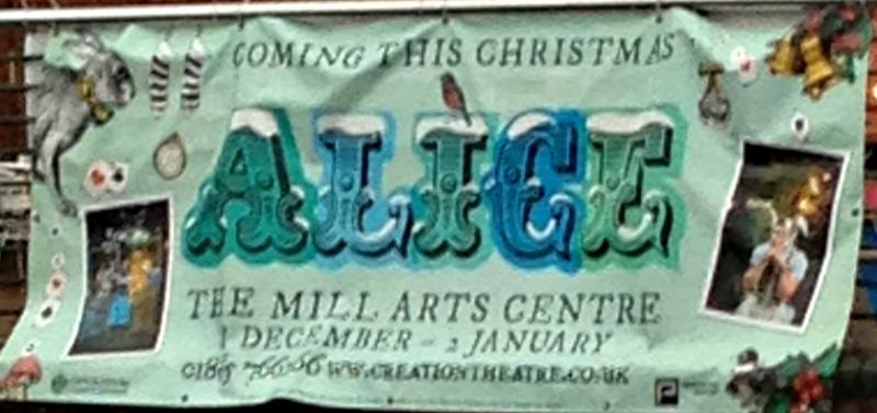 Alice at The Mill Arts Centre Banbury