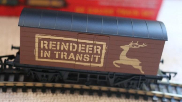 Hornby Santa Express Train Set