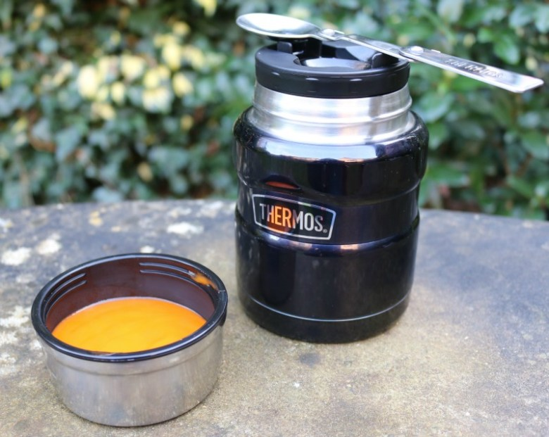 Thermos keep us warm on the go