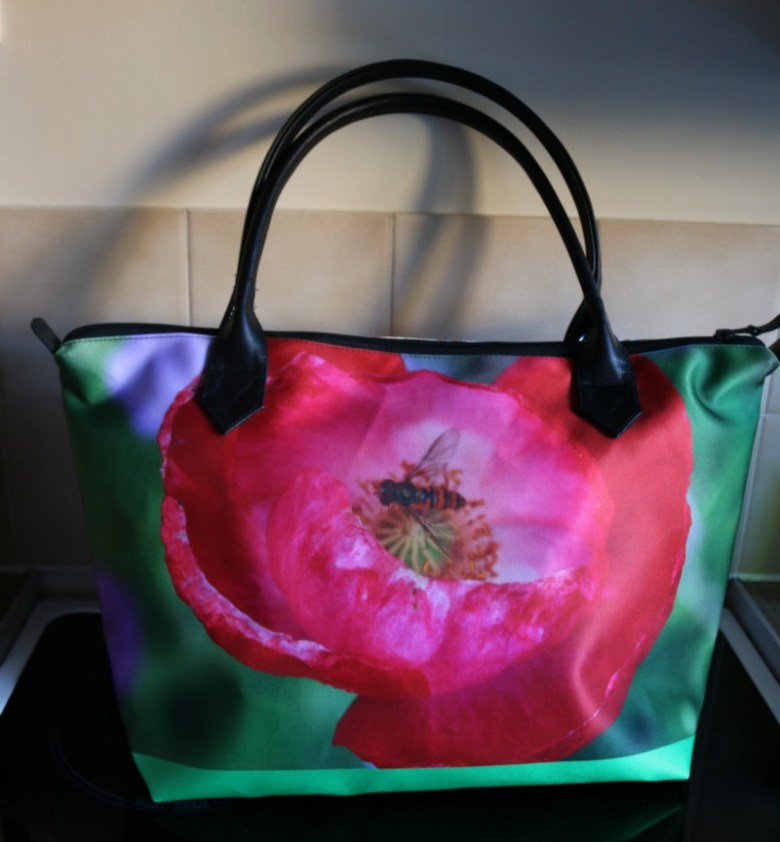 Photo printed handbags
