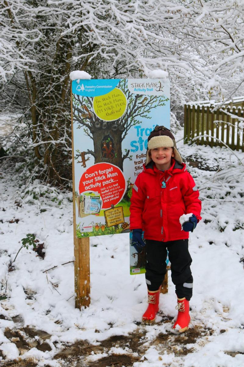 Salcey Forest Stick Man Trail