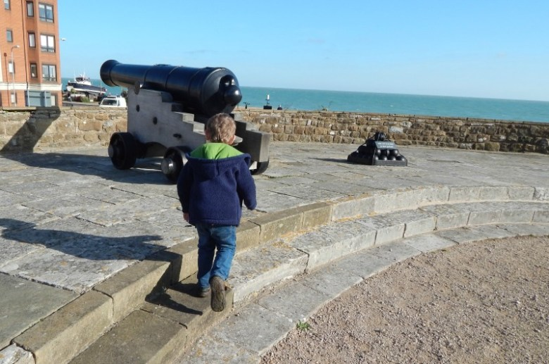 Cannons at Deal Castle