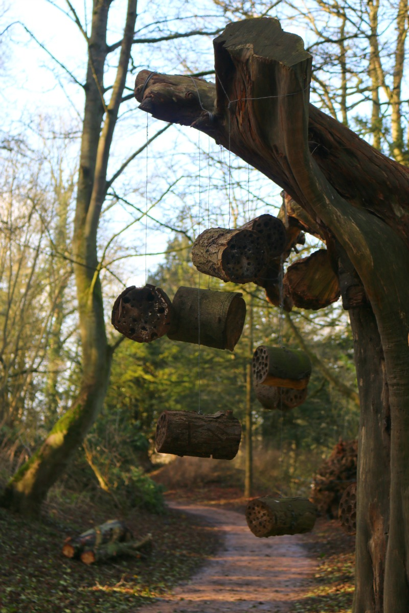Bug hotel at Waddesdon Manor