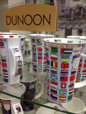 Flags of the World on a mug