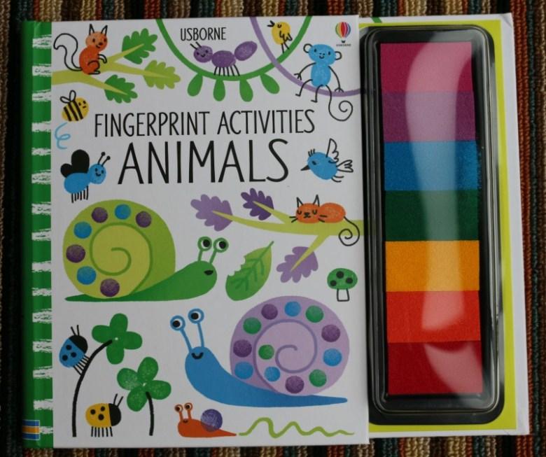 Usborne Fingerprint Activities - Animals book