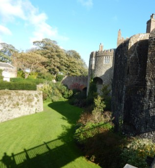 The Moat at Walmer Castle