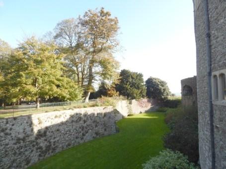 Moat Walmer Castle