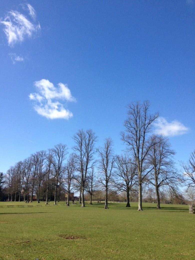 Good Friday at Blenheim Palace